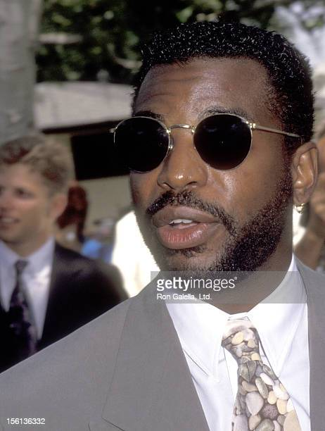 Actor LeVar Burton attends the Wedding of Marina Sirtis and Michael Lamper on June 21 1992 at Saint Sophia Greek Orthodox Cathedral in Los Angeles...