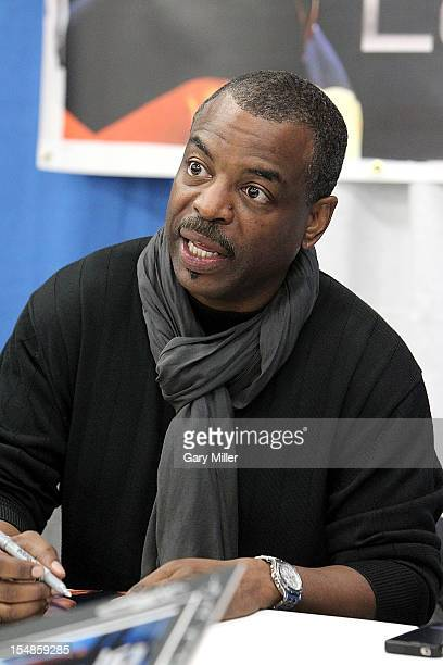 Actor LeVar Burton attends the Wizard World Austin Comic Convention at the Austin Convention Center on October 27 2012 in Austin Texas