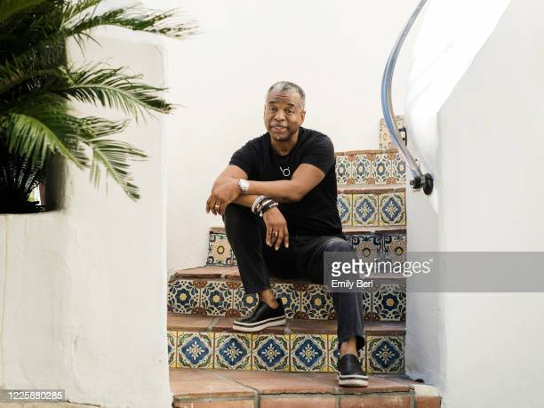 Actor LeVar Burton is photographed for the Washington Post on April 28 2020 at home in Los Angeles California