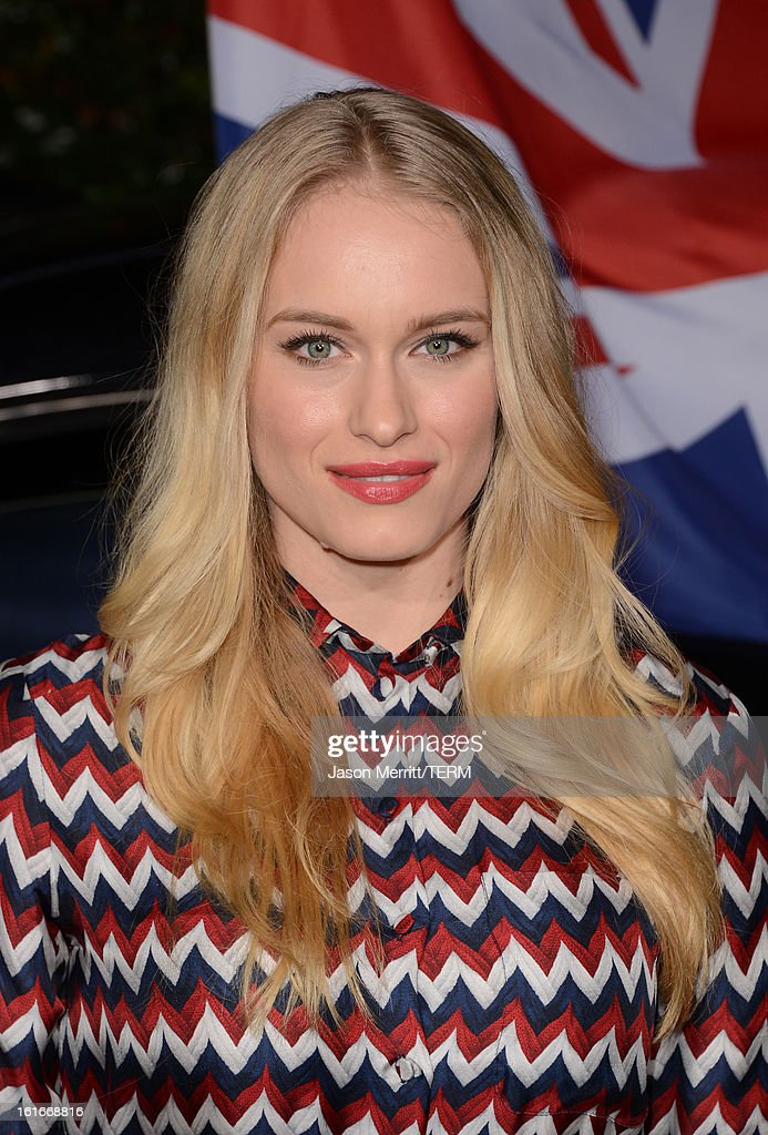 Actor Leven Rambin arrives at the Topshop Topman LA Opening Party at Cecconi's West Hollywood on February 13, 2013 in Los Angeles, California.
