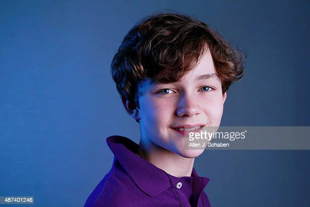 Actor Levi Miller is photographed for Los Angeles Times on August 21 2015 in Los Angeles California PUBLISHED IMAGE CREDIT MUST READ Allen J...