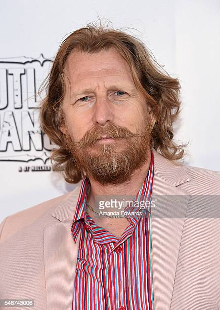 Actor Lew Temple arrives at the premiere of Momentum Pictures' Outlaws and Angels at the Ahrya Fine Arts Movie Theater on July 12 2016 in Beverly...