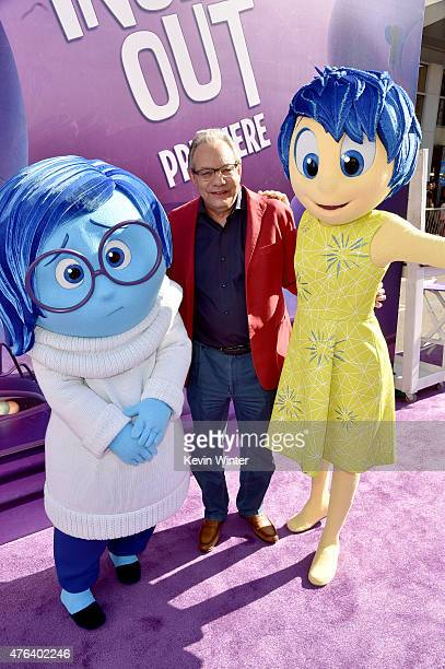 Actor Lewis Black attends the Los Angeles premiere of DisneyPixar's Inside Out at the El Capitan Theatre on June 8 2015 in Hollywood California