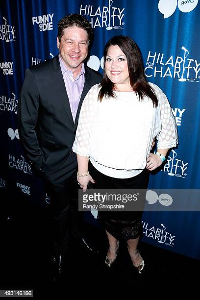Actor Lex Medlin and actress Brooke Elliott attend Hilarity for Charity's Annual Variety Show: James Franco's Bar Mitzvah benefitting the Alzheimer's...