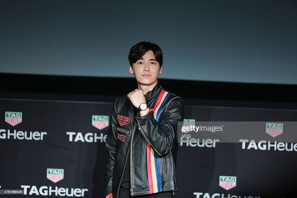Li Yifeng Attends TAG Heuer Commercial Activity In Shanghai