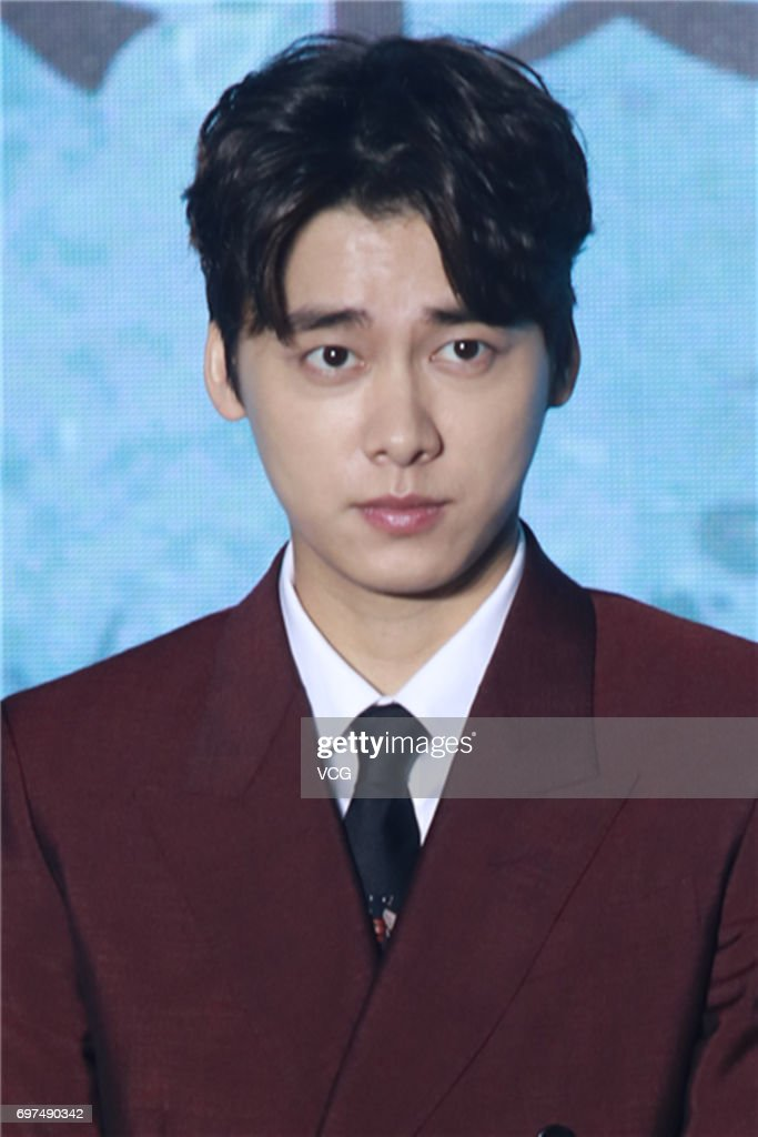 Actor Li Yifeng attends the press conference of film 'Guilty of Mind' during the 20th Shanghai International Film Festival on June 18, 2017 in Shanghai, China.