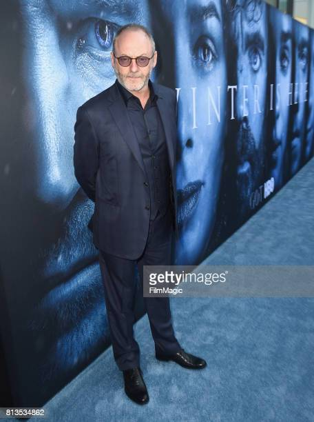 Actor Liam Cunningham at the Los Angeles Premiere for the seventh season of HBO's 'Game Of Thrones' at Walt Disney Concert Hall on July 12 2017 in...