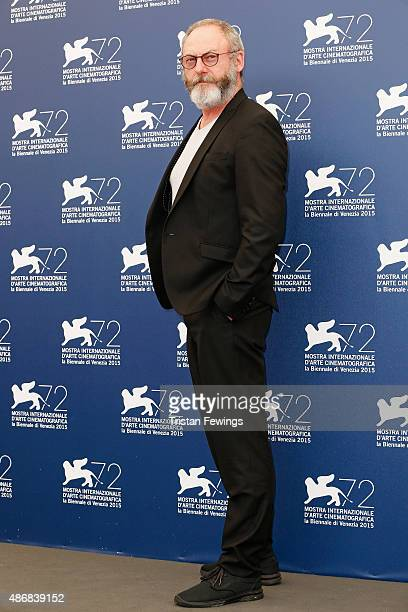 Actor Liam Cunningham attends a photocall for 'The Childhood Of A Leader' during the 72nd Venice Film Festival at Palazzo del Casino on September 5...