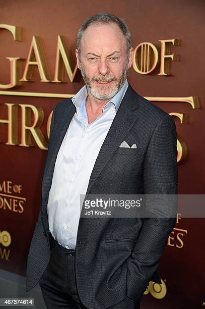 Actor Liam Cunningham attends HBO's 'Game of Thrones' Season 5 Premiere and After Party at the San Francisco Opera House on March 23 2015 in San...