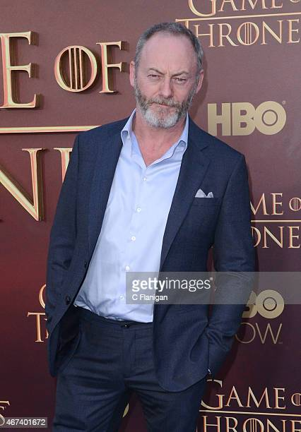 Actor Liam Cunningham attends HBO's 'Game of Thrones' Season 5 Premiere at the San Francisco War Memorial Opera House on March 23 2015 in San...
