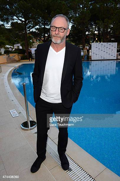 Actor Liam Cunningham attends the Amber Lounge Fashion Monaco 2015 on May 22 2015 in Monaco Monaco
