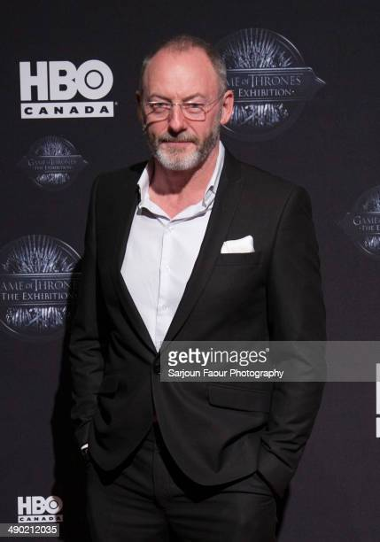 Actor Liam Cunningham attends the grand opening of 'Game Of Thrones The Exhibition' at TIFF Bell Lightbox on May 13 2014 in Toronto Canada