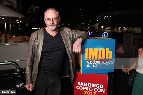 Actor Liam Cunningham attends the #IMDboat Party at San Diego ComicCon 2017 Presented By XFINITY on The IMDb Yacht on July 21 2017 in San Diego...