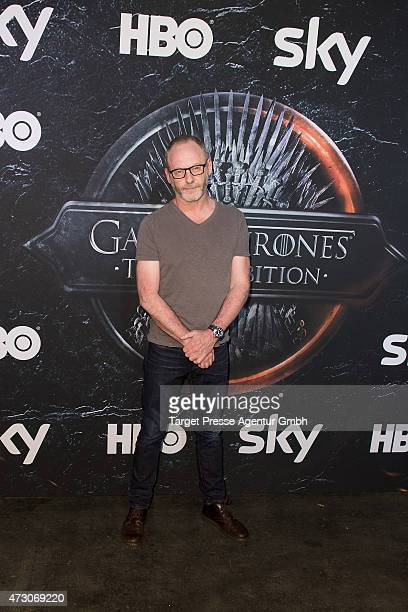 Actor Liam Cunningham attends the pre opening party of the exhibition 'Game of Thrones Die Ausstellung' on May 12 2015 in Berlin Germany