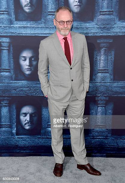 Actor Liam Cunningham attends the premiere of HBO's 'Game Of Thrones' Season 6 at TCL Chinese Theatre on April 10 2016 in Hollywood California
