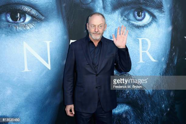 """Actor Liam Cunningham attends the premiere of HBO's """"Game Of Thrones"""" season 7 at Walt Disney Concert Hall on July 12, 2017 in Los Angeles,..."""