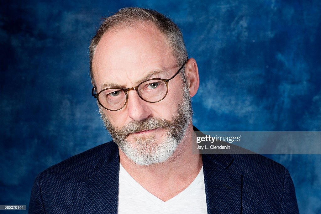 Actor Liam Cunningham of HBO's 'Game of Thrones' is photographed for Los Angeles Times at San Diego Comic Con on July 22, 2016 in San Diego, California.