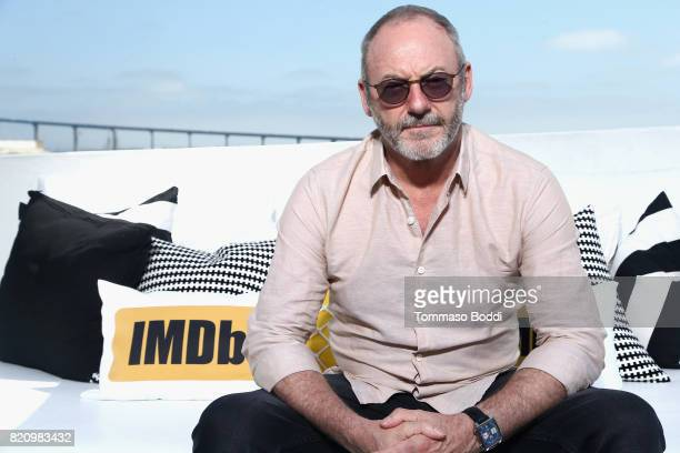 Actor Liam Cunningham on the #IMDboat at San Diego ComicCon 2017 at The IMDb Yacht on July 22 2017 in San Diego California