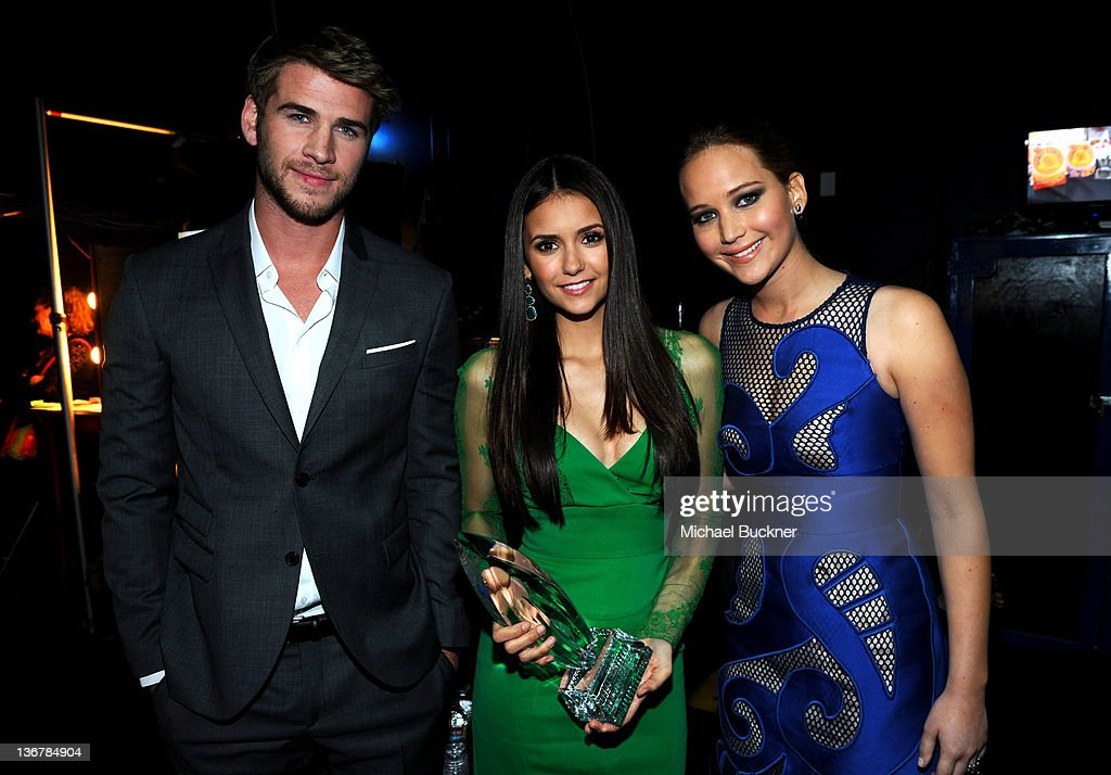 2012 People's Choice Awards - Backstage And Audience : Nachrichtenfoto