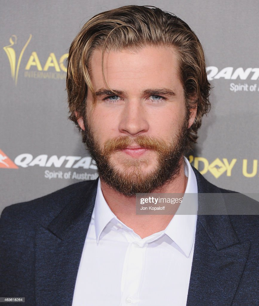 Actor Liam Hemsworth arrives at the 2015 G'Day USA Gala Featuring The AACTA International Awards Presented By Quantas at Hollywood Palladium on January 31, 2015 in Los Angeles, California.