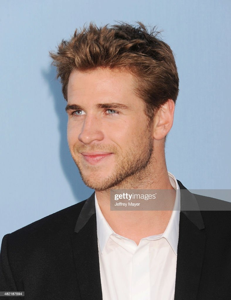 Actor Liam Hemsworth arrives at the Premiere Of Warner Bros. 'Vacation' at Regency Village Theatre on July 27, 2015 in Westwood, California.
