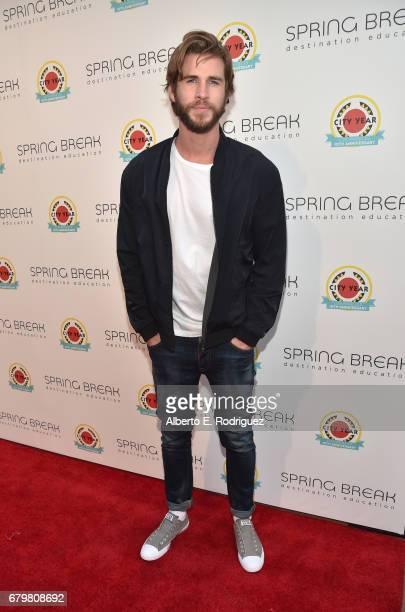 Actor Liam Hemsworth attends City Year Los Angeles Spring Break on May 6 2017 in Los Angeles California