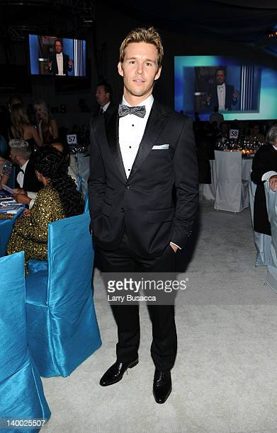 Actor Liam Hemsworth attends the 20th Annual Elton John AIDS Foundation Academy Awards Viewing Party at The City of West Hollywood Park on February...