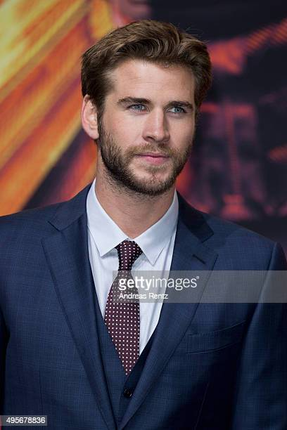 Actor Liam Hemsworth attends the world premiere of the film 'The Hunger Games Mockingjay Part 2' at CineStar on November 4 2015 in Berlin Germany