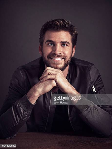 Actor Liam Hemsworth is photographed for 20th Century Fox on March 22 2016 in Los Angeles California
