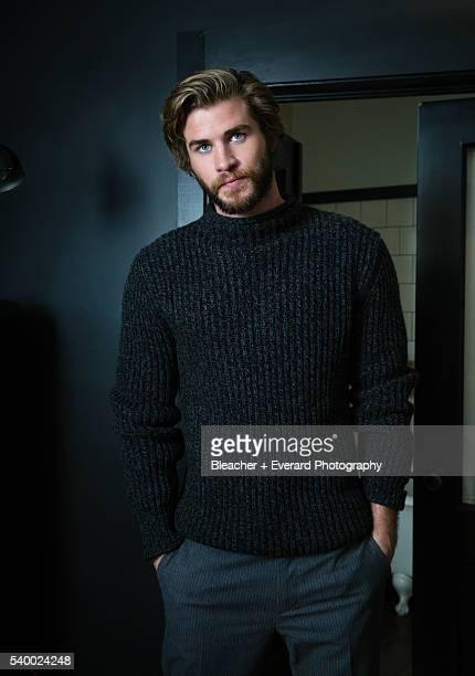 Actor Liam Hemsworth is photographed for Esquire Middle East on November 14 2014 in New York City Styling Kate Hazell Grooming Kate Goodwin COVER...