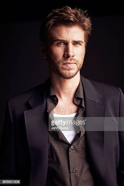 Actor Liam Hemsworth is photographed for Icon Magazine on April 1 2016 in Los Angeles California