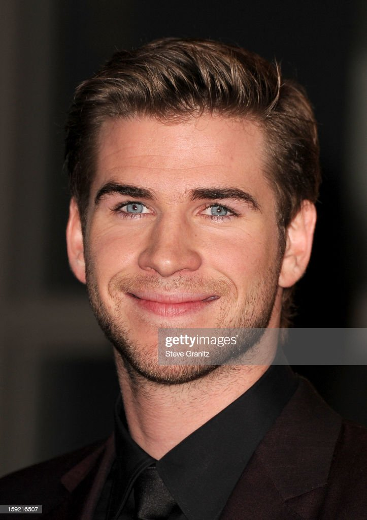 Actor Liam Hemsworth poses in the press room during the 2013 People's Choice Awards at Nokia Theatre L.A. Live on January 9, 2013 in Los Angeles, California.