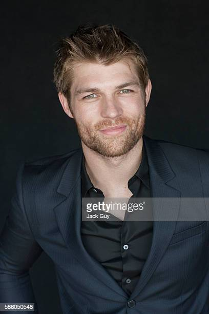 Actor Liam McIntyre is photographed on January 12 2012 in Los Angeles California
