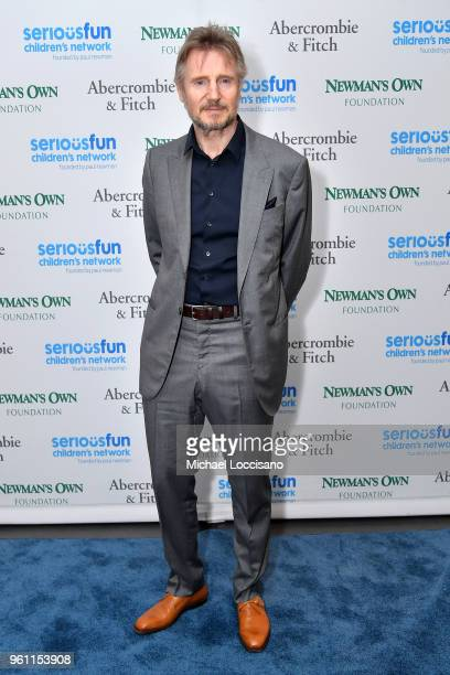 Actor Liam Neeson attends the 2018 SeriousFun Children's Network Gala at The Ziegfeld Ballroom on May 21 2018 in New York City