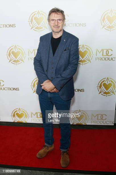 Actor Liam Neeson attends the MDC Productions' 3rd Annual Face Off to Fight Cancer at the Sky Rink at Chelsea Piers on October 27 2019 in New York...