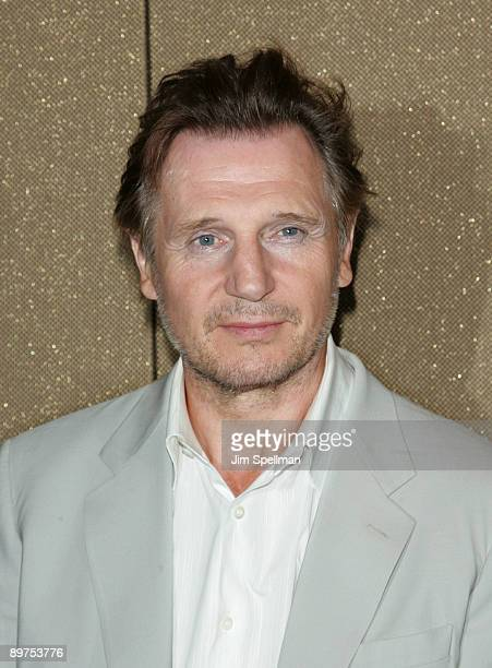 Actor Liam Neeson attends the premiere 'Five Minutes Of Heaven' at the Tribeca Grand Hotel on August 11 2009 in New York City