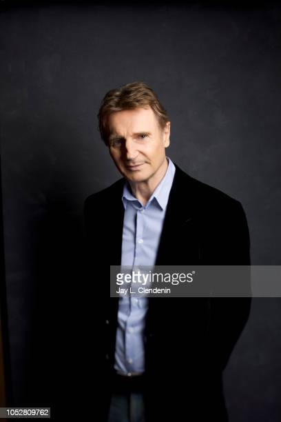Actor Liam Neeson from 'Widows' is photographed for Los Angeles Times on September 11 2018 in Toronto Ontario PUBLISHED IMAGE CREDIT MUST READ Jay L...