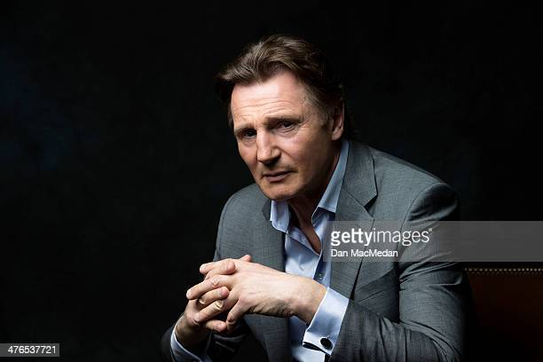 Actor Liam Neeson is photographed for USA Today on February 24 2014 in Los Angeles California PUBLISHED IMAGE