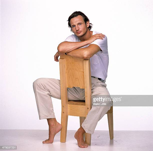 Actor Liam Neeson is photographed in 1990 in Los Angeles California