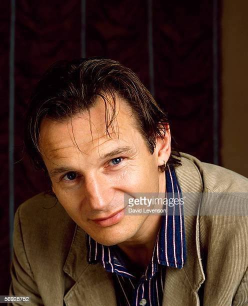 Actor Liam Neeson poses for a portrait in London England on February 7 1990