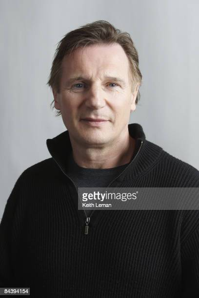 Actor Liam Neeson poses for a portrait session at the Sundance Film Festival in Park City Utah