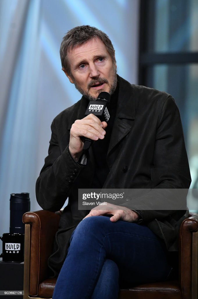 Actor Liam Neeson visits Build Series to discuss his new