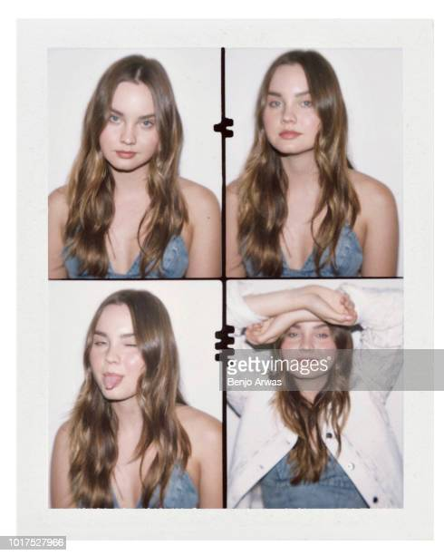 Actor Liana Liberato is photographed on August 28, 2017 in Los Angeles, California.