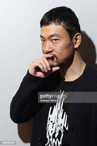 Actor Liao Fan Mei by Photographer Andreas Rentz for the Contour Collection poses during the 64th Berlinale International Film Festival at Berlinale...