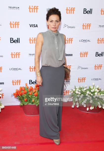 """Actor Lidia Vitale attends the premiere of """"Tulipani, Love, Honour And A Bicycle"""" during the 2017 Toronto International Film Festival at Ryerson..."""