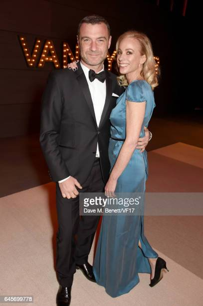 Actor Liev Schreiber and Kate Driver attend the 2017 Vanity Fair Oscar Party hosted by Graydon Carter at Wallis Annenberg Center for the Performing...