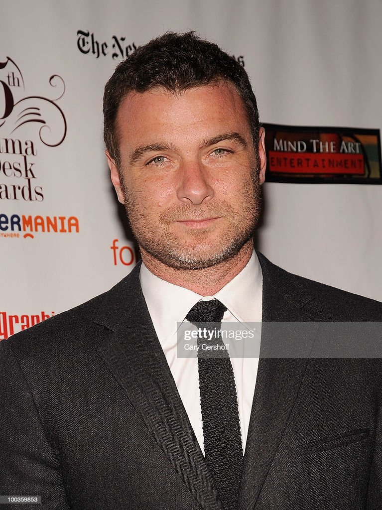 Actor Liev Schreiber arrives at the 55th Annual Drama Desk Awards at the FH LaGuardia Concert Hall at Lincoln Center on May 23, 2010 in New York City.