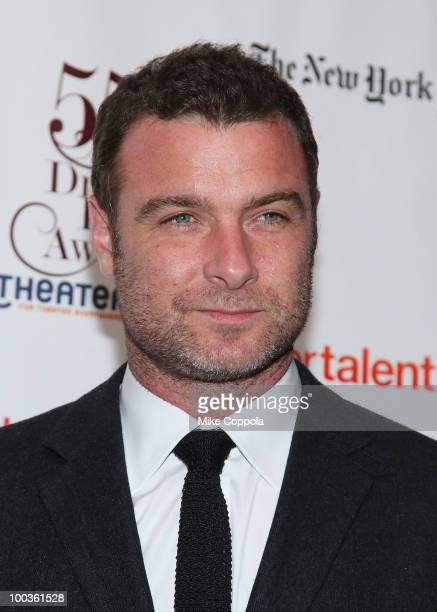 Actor Liev Schreiber arrives at the 55th Annual Drama Desk Awards at the FH LaGuardia Concert Hall at Lincoln Center on May 23 2010 in New York City
