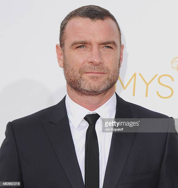 Actor Liev Schreiber arrives at the 66th Annual Primetime Emmy Awards at Nokia Theatre LA Live on August 25 2014 in Los Angeles California
