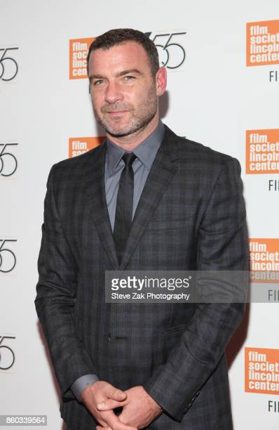 Actor Liev Schreiber attends 'Joan Didion The Center Will Not Hold' during the 55th New York Film Festival at Alice Tully Hall on October 11 2017 in...